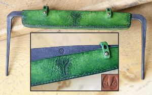 Woodland Drawknife Sheath by Half-Goat