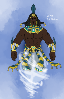 Smite Concept - Shu, The Pacifier by Kaiology