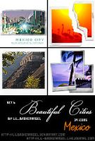 Icons - BeautifulCities Mexico by lilbrokenangel