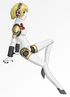Aigis - Persona 3 by Captain-of-Crunch