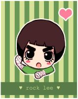 rock lee chibi by ImAFreakingNinja