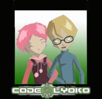 COdE LYOKO Jeremy and Aelita by rockerbabymatt