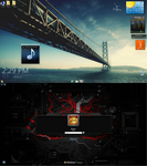 Bridge desktop by LazyLaza