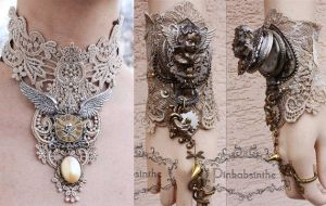 SALE SALE !! Steampunk set by Pinkabsinthe