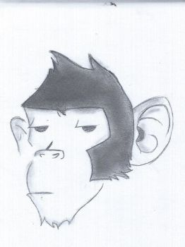 Monkey by kimpossible0598