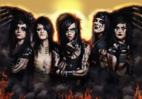 Black Veil Brides by Cynthia-Blair