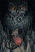 Mrs. Frisby and the Owl by aljanny