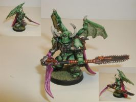 Winged Nurgle lord by cbomb13