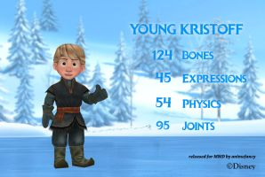 MMD Young Kristoff DL by animefancy-mmd