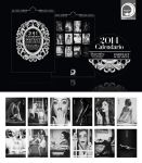 2014 Calendar - Portrait of Decadence - FOR SALE!! by ideareattiva