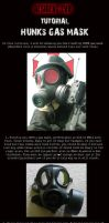 HUNK Gas Mask Tutorial by ZombieHunt3r