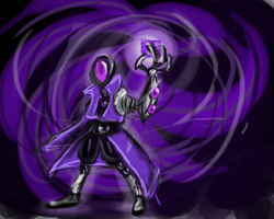 Speed Paint - Paradox the  Quantum Anomaly by k-the-dragonknight