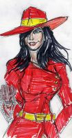 Carmen Sandiego by theaven