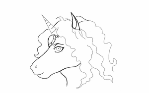 random horse furry drawing (drawn on kindle) by gamemaster8910