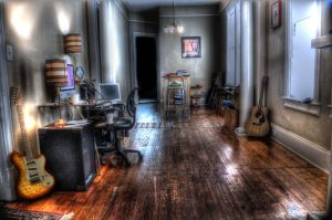 My office HDR by Burkaset