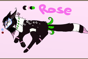 Rose - new monster character by Jusury