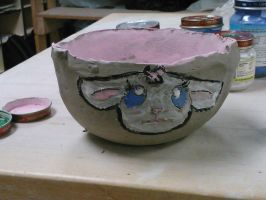 Cereal Bowl (in progress) by AkaiChounokoe