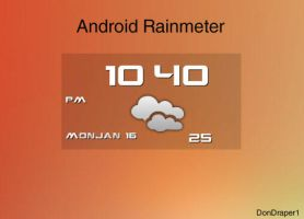 Widget Rainmeter by DonDraper1