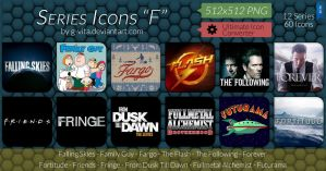 TV Series Icons F by g-Vita