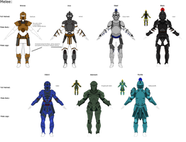 RS Armor Redesign Concepts by EliteZeon