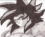 Goku SSJ4 by superheroarts