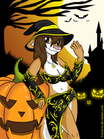Happy Halloween by FoxRaver