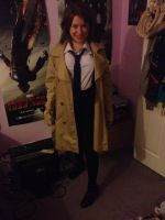 Female Leviathan!Castiel Full Costume by babadaisy96