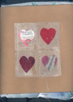 tea bag hearts by Kayola