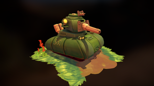 Tank Scene by Limited-Access
