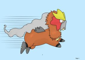 cute Entei by spot1the2dog3