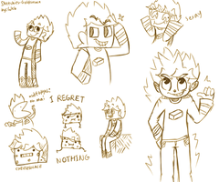 Sketchies! - Goldsolace by 1WebRainbowe1