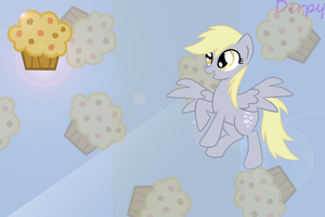 Derpy hooves wallpaper by themancat