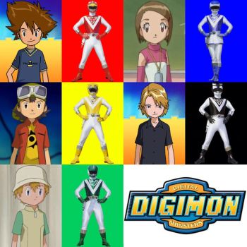 Digimon Liveman by PinkRangerFan
