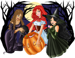 Keepers' Halloween by Ameryliz
