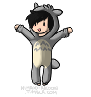 Totoro Phil by SpunkyRacoon