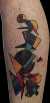 Kandinsky Tattoo by CakeinyourFace