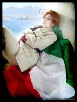 SouthItaly Cosplay-Romano in Naples by ChibiMisa94