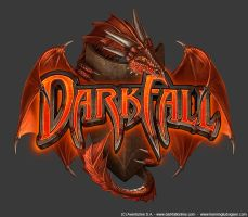 Darkfall logo, dragon by henning