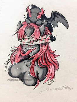 Lilith from The Binding of Isaac: Rebirth by paolaski