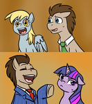 QnA Crossovers by BaldDumboRat