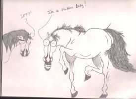 Horse Comic by ShadGirl654