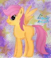 Scootaloo #2 by jazzy-rose-hxc