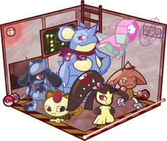 Pokemon Agents by SteveKdA