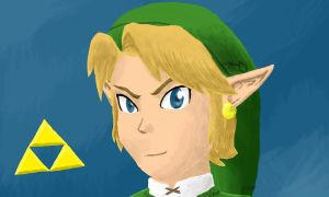 Colors! 3D: Link by Comic-Ray
