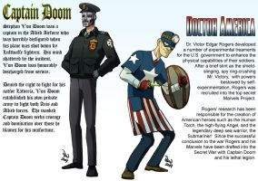 Captain Doom vs Doctor America by DBed