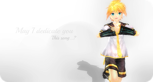 .:May I dedicate you...:. by Zero09Ike