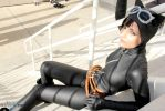 Catwoman - Cat in the Sun by Cortana2552