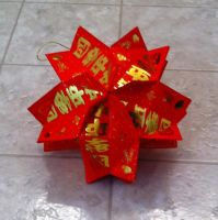 Chinese red envelope lantern folding by jossfolder on for Ang pao origami