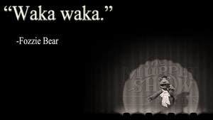 The Muppets: Fozzie Bear Wallpaper by JanetAteHer