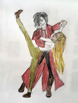 Pose practice alucard and integra tango by huma-nist